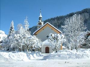 Pfarrkirche St. Josef Winter 2002/2003