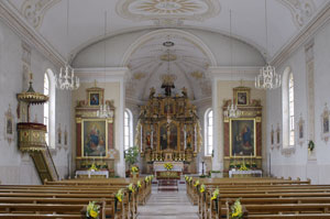 Pfarrkirche St. Josef innen