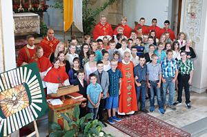 Firmung 2014 in Studen und Unteriberg
